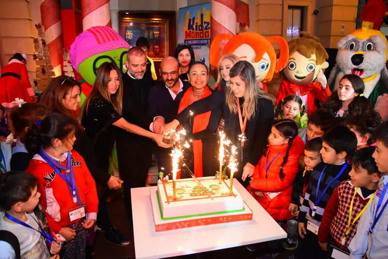 KidzMondo Beirut celebrates the Holidays season with Paroisse Saint Georges Rmeil