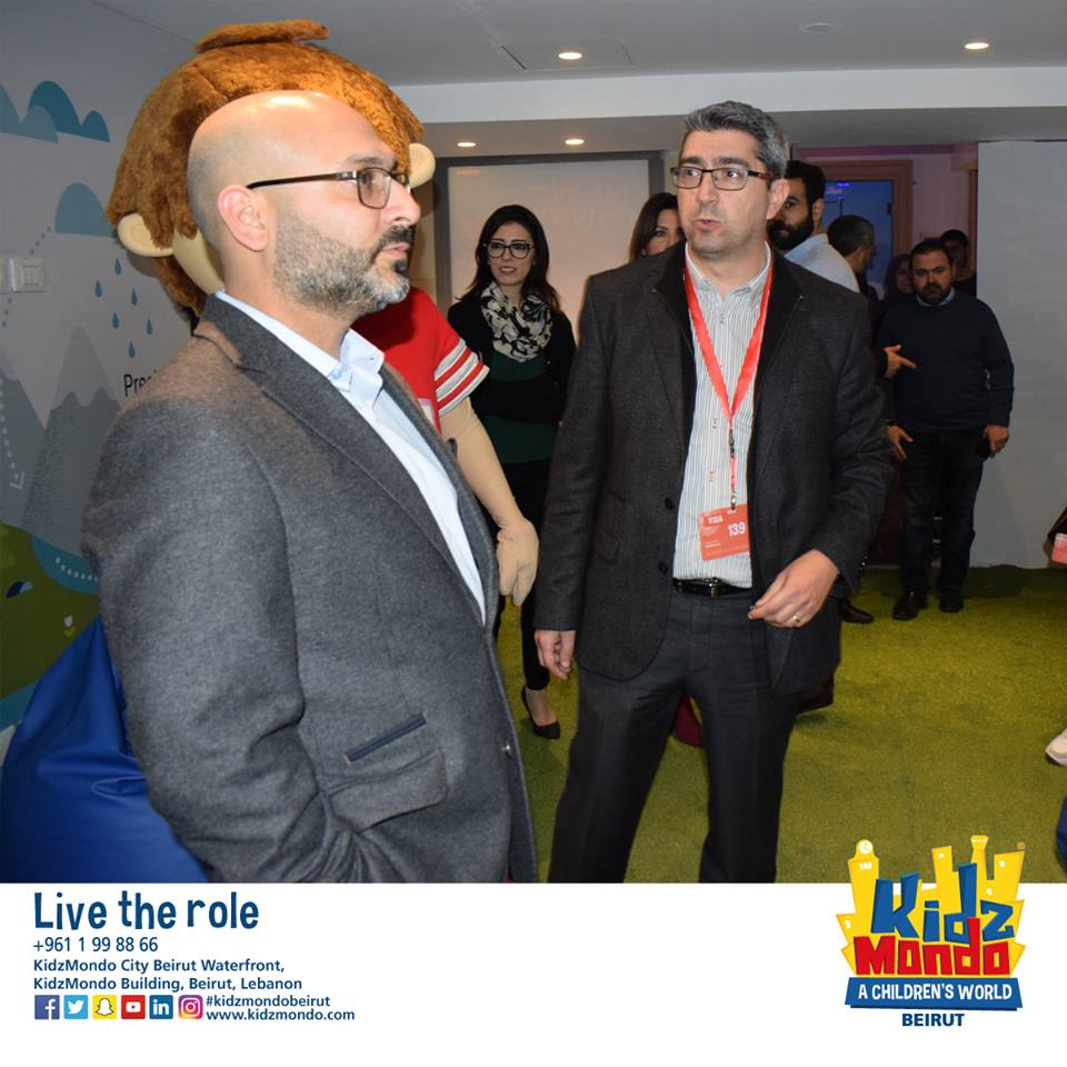 Aquafina Visit in KidzMondo Beirut