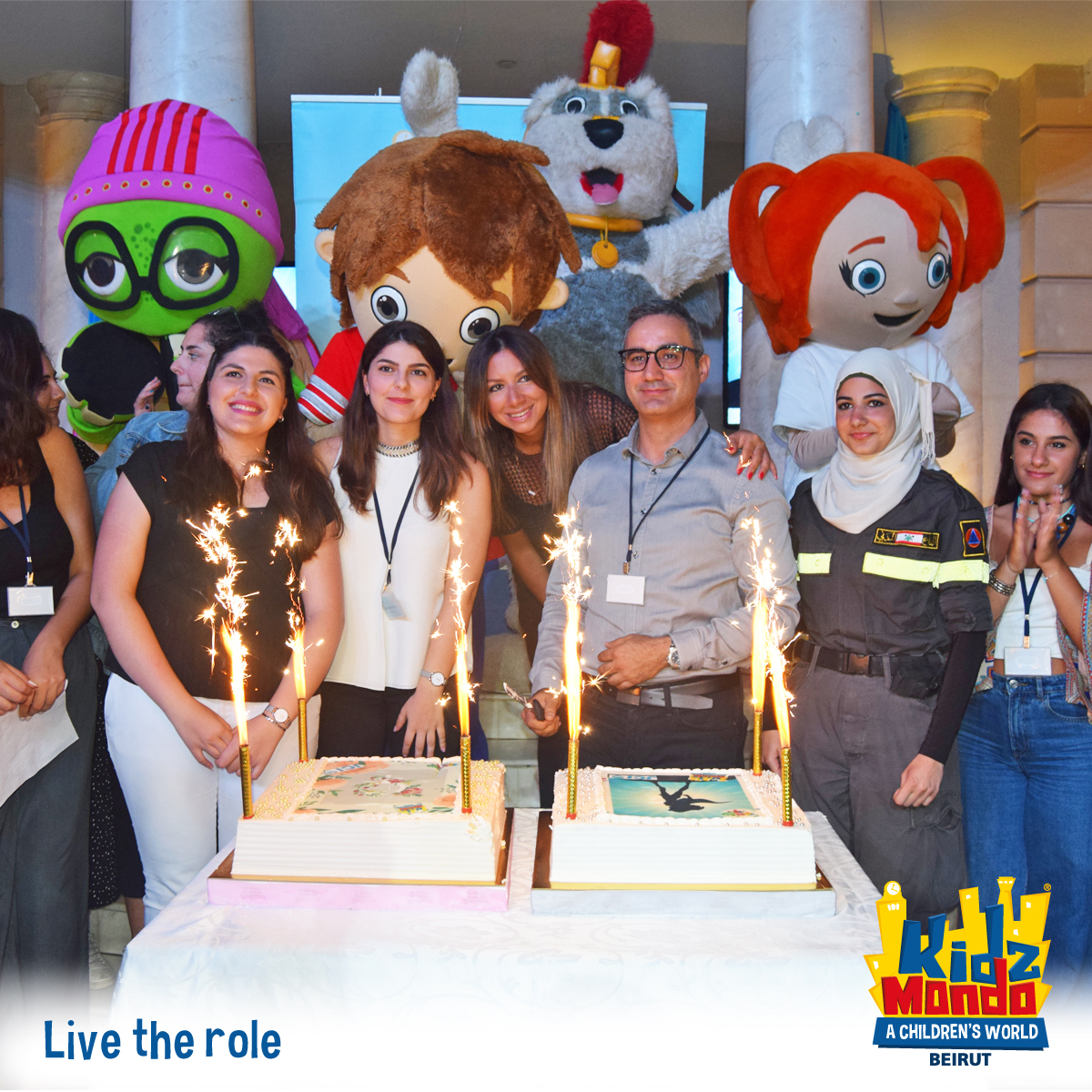 """So Can She"" Junior Chamber International  Event At KidzMondo Beirut"